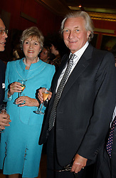 LORD & LADY HESELTINE at a reception to open an exhibition entitled 'Boucher Seductive Visions' at The Wallace Collection, Manchester Square, London W1 on 29th September 2004.NON EXCLUSIVE - WORLD RIGHTS