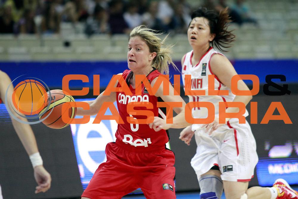 DESCRIZIONE : Ostrawa Repubblica Ceca Czech Republic Women World Championship 2010 Campionato Mondiale Preliminary Round China Canada<br /> GIOCATORE : Teresa GABRIELE<br /> SQUADRA : Canada<br /> EVENTO : Ostrawa Repubblica Ceca Czech Republic Women World Championship 2010 Campionato Mondiale 2010<br /> GARA : China Canada Cina Canada<br /> DATA : 24/09/2010<br /> CATEGORIA :<br /> SPORT : Pallacanestro <br /> AUTORE : Agenzia Ciamillo-Castoria/H.Bellenger<br /> Galleria : Czech Republic Women World Championship 2010<br /> Fotonotizia : Ostrawa Repubblica Ceca Czech Republic Women World Championship 2010 Campionato Mondiale Preliminary Round China Canada<br /> Predefinita :