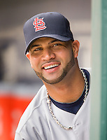 St. Louis Cardinals slugger Albert Pujols during his 2009 National League MVP season.