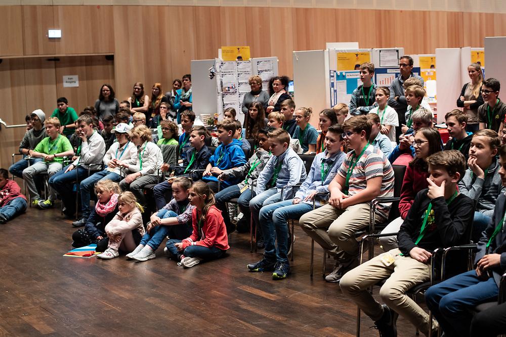 Landeswettbewerb Schüler experimentieren 2018 bei Boehringer Ingelheim Pharma GmbH &Co. KG