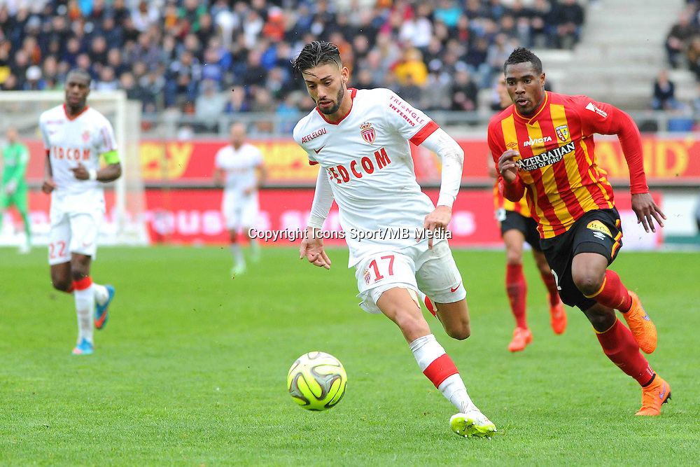 Yannick FERREIRA CARRASCO - 26.04.2015 - Lens / Monaco - 34eme journee de Ligue 1<br />