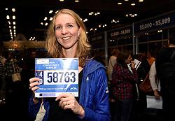 30-10-2015 USA: NYC Marathon We Run 2 Change Diabetes day 2, New York<br /> Na Expo met de groep op de fiets NY verkennen / Expo hal, inschrijving, Sasja