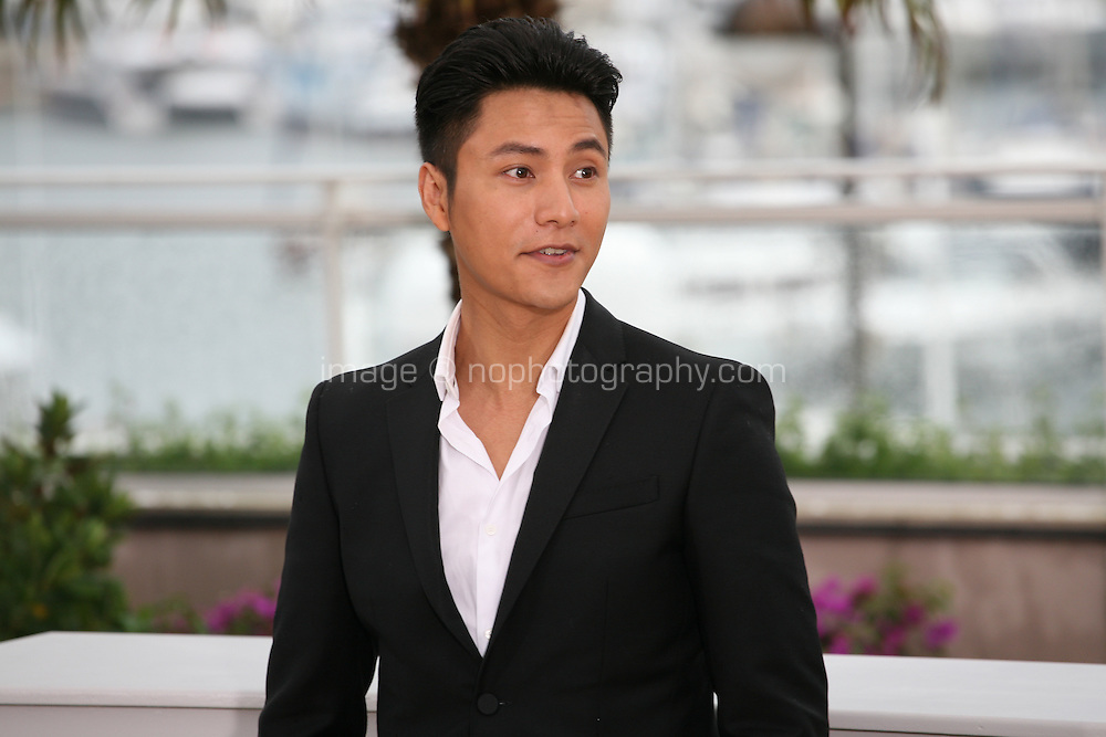 Actor Kun Chen at the Bends film photocall at the Cannes Film Festival 18th May 2013