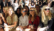 Rob Thomas, Marisol Thomas,Lake Bell, Scott Campbell, Gina Gershon, Petra Nemcova, Molly Sims, Olivia Palermo, Sheryl Crow, Courtney Love and Louise Roe in the front row of the Marchesa Spring 2014 Mercedes-Benz Fashion Week.<br />