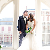 The First Look with Bride & Groom Moments before Ceremony 1216 Studio New Orleans Wedding Photographer