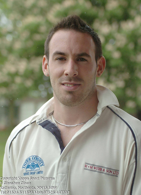 CHRIS GOODE (CAPTAN) FINEDON DOLBEN CRICKET CLUB <br /> 27/5/06 Cricket Cricket