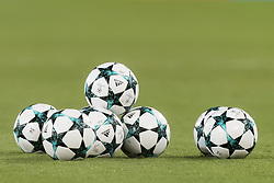 the adidas ball of the champions league season 2017/2018 during the UEFA Champions League group C match match between AS Roma and Atletico Madrid on September 12, 2017 at the Stadio Olimpico in Rome, Italy.