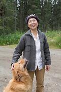 Mayumi Nishimura, makrobiotisk h&auml;lsocoach och kock.<br /> <br /> Fotograf: Christina Sjogren<br /> Copyright 2018, All Rights Reserved