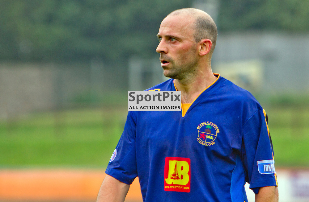 Berwick Rangers v Dunfermline Athletic Pre Season friendly Shielfield Park 19 July 2014<br /> Players/Manager Colin Cameron<br /> <br /> CRAIG BROWN | sportPix.org.uk
