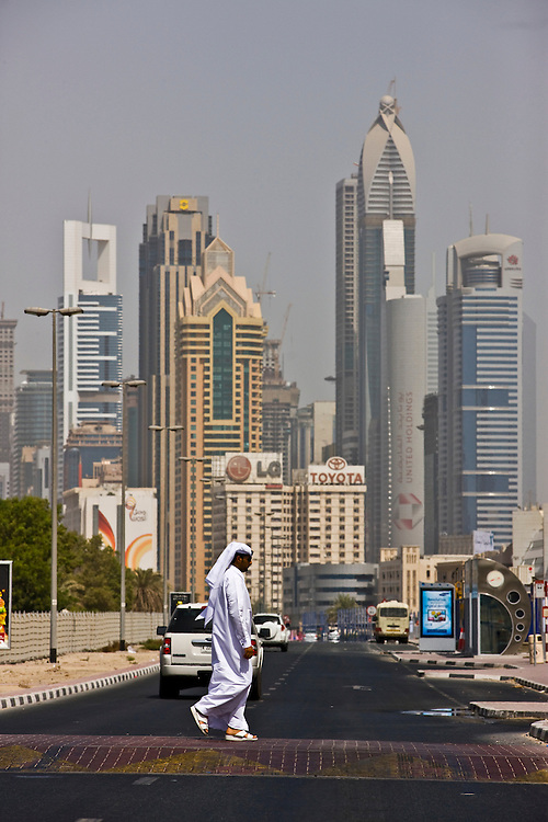 Dubai . just off  Sheikh Zayed Road