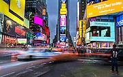 Times Square, New York, NY.