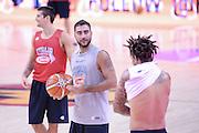 DESCRIZIONE: Berlino EuroBasket 2015 - Allenamento<br /> GIOCATORE:Pietro Aradori<br /> CATEGORIA: Allenamento<br /> SQUADRA: Italia Italy<br /> EVENTO:  EuroBasket 2015 <br /> GARA: Berlino EuroBasket 2015 - Allenamento<br /> DATA: 04-09-2015<br /> SPORT: Pallacanestro<br /> AUTORE: Agenzia Ciamillo-Castoria/M.Longo<br /> GALLERIA: FIP Nazionali 2015<br /> FOTONOTIZIA: Berlino EuroBasket 2015 - Allenamento