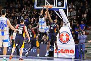DESCRIZIONE : Campionato 2014/15 Dinamo Banco di Sardegna Sassari - Virtus Acea Roma<br /> GIOCATORE : Shane Lawal<br /> CATEGORIA : Sequenza Schiacciata Controcampo <br /> SQUADRA : Dinamo Banco di Sardegna Sassari<br /> EVENTO : LegaBasket Serie A Beko 2014/2015<br /> GARA : Dinamo Banco di Sardegna Sassari - Virtus Acea Roma<br /> DATA : 15/02/2015<br /> SPORT : Pallacanestro <br /> AUTORE : Agenzia Ciamillo-Castoria/C.Atzori<br /> Galleria : LegaBasket Serie A Beko 2014/2015<br /> Fotonotizia : Campionato 2014/15 Dinamo Banco di Sardegna Sassari - Virtus Acea Roma<br /> Predefinita :Predefinita :