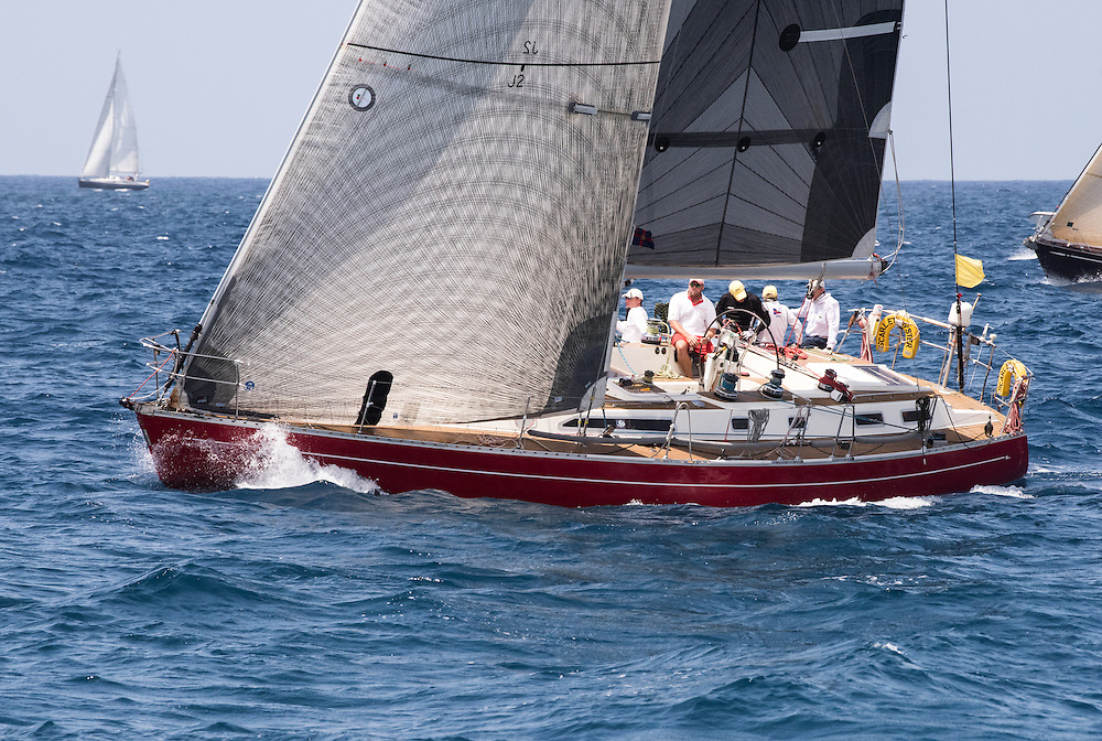 1st CSA Racing 6, Best British yacht and Best Racing Charter Yacht, Ross Applebey's Oyster 48, Scarlet Oyster
