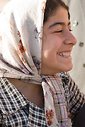 Iranian girl wearing headscarf Shiraz, Iran