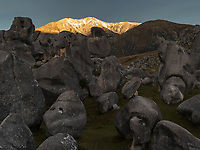 Castle Hill is a location and a high country station in New Zealand's South Island. It is located at an altitude of 700 metres. The hill was so named because of the imposing array of limestone boulders in the area reminiscent of an old, run-down stone castle.