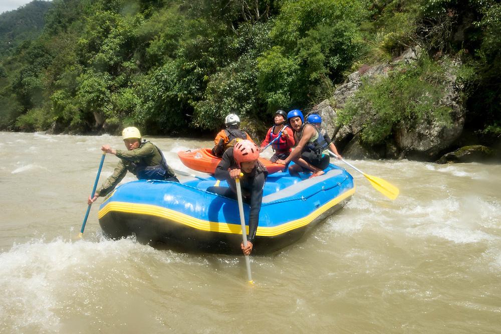 rafting, bhutan <br /> <br /> Full photoessay at http://xpatmatt.com/photos/bhutan-photos/
