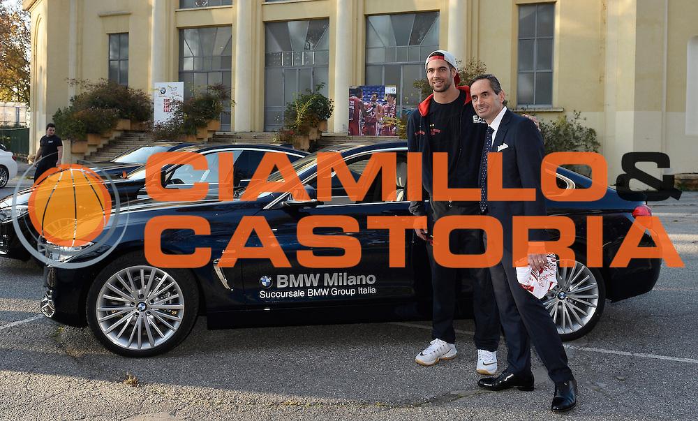 DESCRIZIONE : Milano EA7 Emporio Armani Olimpia Milano evento BMW<br /> GIOCATORE : Bruno Cerella Maurizio Ambrosino<br /> CATEGORIA :<br /> SQUADRA : EA7 Emporio Armani Olimpia Milano <br /> EVENTO : EA7 Emporio Armani Olimpia Milano evento BMW<br /> GARA : EA7 Emporio Armani Olimpia Milano evento BMW<br /> DATA : 10/11/2015 <br /> SPORT : Pallacanestro <br /> AUTORE : Agenzia Ciamillo-Castoria/R.Morgano<br /> Galleria : EA7 Emporio Armani Olimpia Milano<br /> Fotonotizia : EA7 Emporio Armani Olimpia Milano evento BMW<br /> Predefinita :