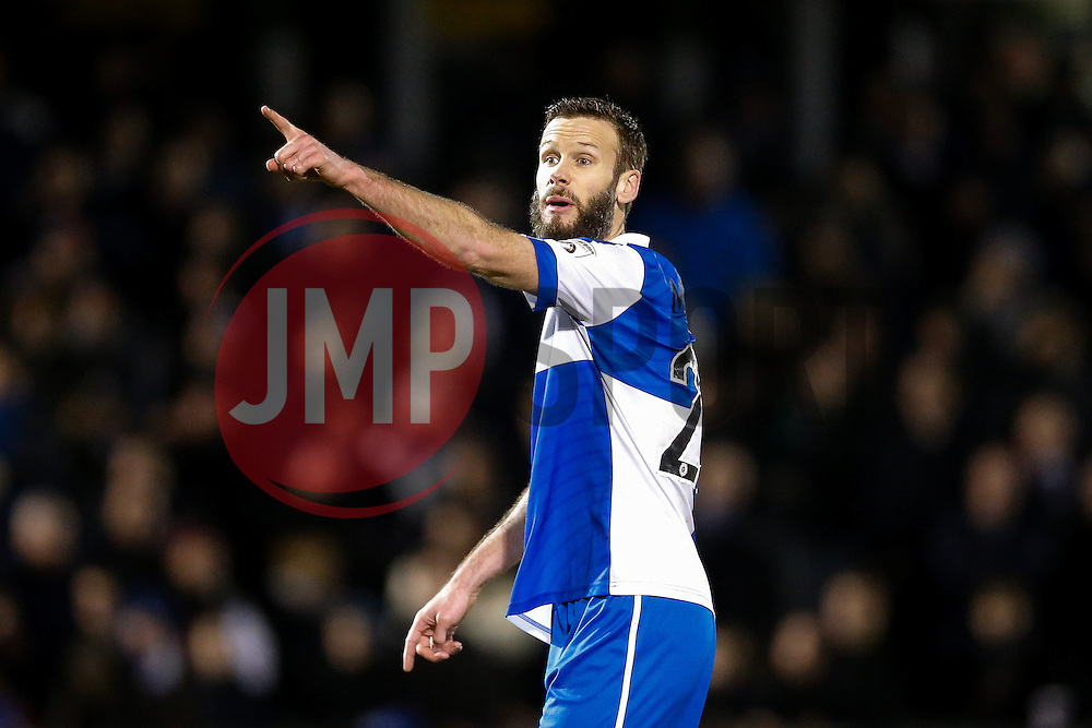Andy Monkhouse of Bristol Rovers - Photo mandatory by-line: Rogan Thomson/JMP - 07966 386802 - 24/02/2015 - SPORT - FOOTBALL - Bristol, England - Memorial Stadium - Bristol Rovers v Braintree Town - Vanarama Conference Premier.
