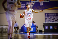 Andric  Marko of Serbia during basketball match between National teams of Serbia and Italy in the 9th place Classifications of FIBA U18 European Championship 2019, on August 4, 2019 in Portaria Hall, Volos, Greece. Photo by Vid Ponikvar / Sportida