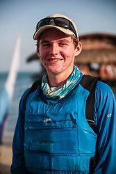 World Sailing Emerging Nations Program - Boca Chica Sailing Club, Santo Domingo 08/19/2017 - DAY 1- Kyle Spenard from Barbados