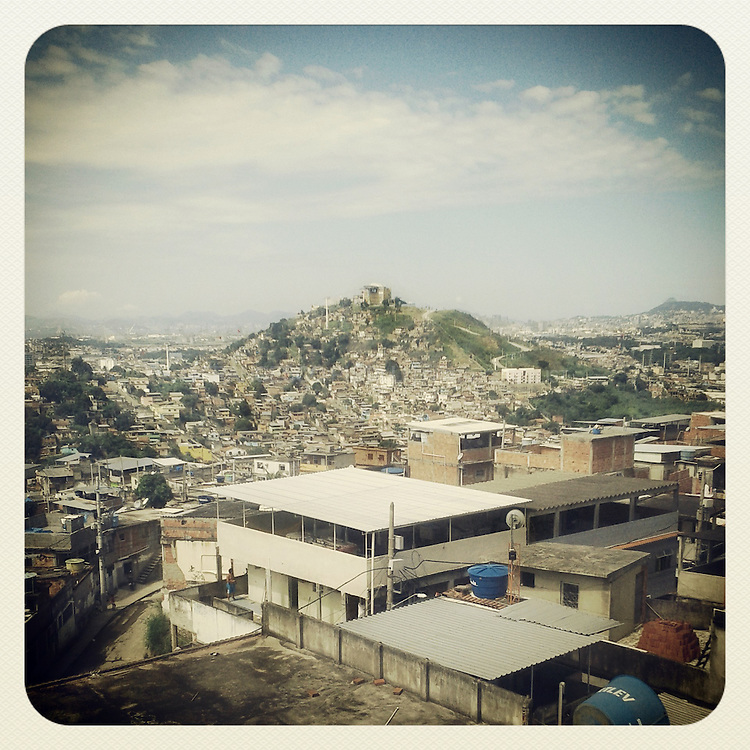 April 2013. Rio de Janeiro; Brazil. &quot;Complexo do Alem&atilde;o&quot; is a group of favelas in northern Rio. <br />