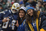 Dec 24, 2017; East Rutherford, NJ, USA; during an NFL football game at MetLife Stadium. The Chargers defeated the Jets 14-7.