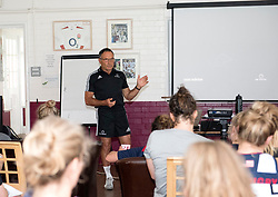 Reknowned performance coach Dave Alred talks to Bristol Rugby Ladies during their weekend training camp - Mandatory by-line: Paul Knight/JMP - 29/07/2017 - RUGBY - Bristol Ladies Rugby pre-season training