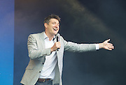 West End Live! 2016 <br /> Trafalgar Square, London, Great Britain <br /> 18th June 2016<br /> <br /> Tom Chambers who will star in CRAZY FOR YOU<br /> <br /> Photograph by Elliott Franks <br /> Image licensed to Elliott Franks Photography Services