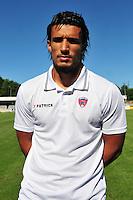 Idriss Saadi - 07.08.2015 - Evian Thonon / Clermont - 2eme journee de Ligue 2<br /> Photo : Philippe Lebrech / Icon Sport