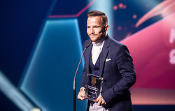 Dino Hotic during SPINS XI Nogometna Gala 2019 event when presented best football players of Prva liga Telekom Slovenije in season 2018/19, on May 19, 2019 in Slovene National Theatre Opera and Ballet Ljubljana, Slovenia. ,Photo by Urban Meglic / Sportida