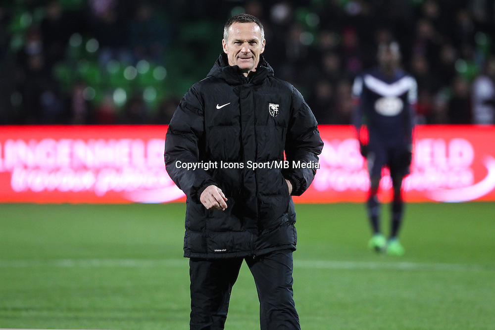 Albert CARTIER - 03.12.2014 - Metz / Bordeaux - 16eme journee de Ligue 1 -<br />