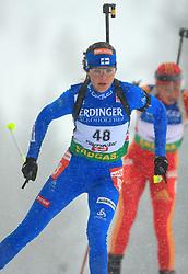 Teija Kuntola (FIN) at Women 15 km Individual at E.ON Ruhrgas IBU World Cup Biathlon in Hochfilzen (replacement Pokljuka), on December 18, 2008, in Hochfilzen, Austria. (Photo by Vid Ponikvar / Sportida)