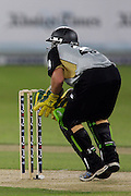 JB Watling during the first ICC Twenty20 (Twenty Twenty) match between Pakistan and New Zealand held at the Dubai International Cricket Stadium, Dubai, UAE, 12 November, 2009. Photo: SPORTDXB / PHOTOSPORT