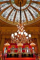 American roulette tables, Casino Baden Baden, Baden Baden, Baden-Württemberg, Germany