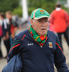 Mayo Supporter ???????  Moran from Tiernaur Newport at McHale park for the All Ireland qualifer against Derry.<br />Pic Conor McKeown