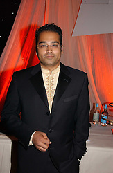 Channel 4 news jounalist KRISHNAN GURU-MURTHY at the 10th Anniversary Asian Business Awards 2006 at the London Grosvenor Hotel Park Lane, London on 19th April 2006.<br />