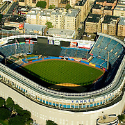 Aerial view of the Original Yankee's Stadium, New York