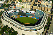 Aerial view of the Original Yankee's Stadium, New York