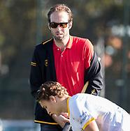 WASSENAAR - Ruben Mulder (Den Bosch)   tijdens de hoofdklasse hockeywedstrijd HGC-Den Bosch (3-2). COPYRIGHT KOEN SUYK