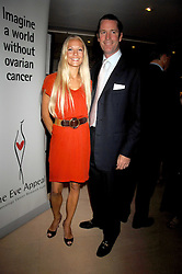 RORY & CAROLINE FLEMING at a dinner in aid of Eve Appeal, Gynaecology Cancer research Fund held at Nobu, The Metropolitan Hotel, Park Lane, London on 3rd September 2007.<br /><br />NON EXCLUSIVE - WORLD RIGHTS