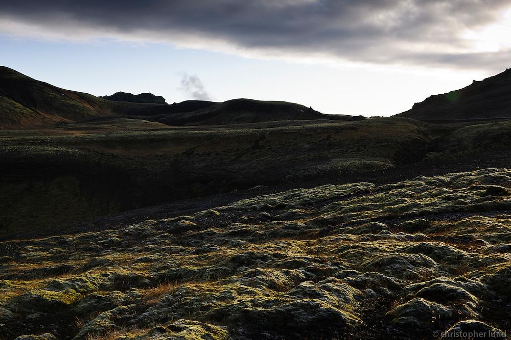 Skammt frá Nesjavöllum. Close to Nesjavellir Geothermal Power Plant, Iceland.