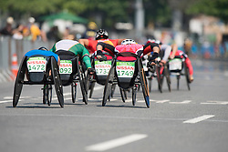 FAIRBANK Pierre, FRA, T52/53/54 Marathon, YAMAMOTO Hiroyuki, JPN at Rio 2016 Paralympic Games, Brazil