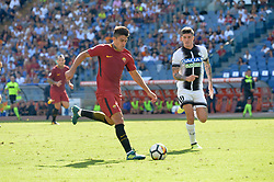 September 23, 2017 - Rome, Italy - Diego Perotti during the Italian Serie A football match between A.S. Roma and Udinese at the Olympic Stadium in Rome, on september 23, 2017. (Credit Image: © Silvia Lore/NurPhoto via ZUMA Press)