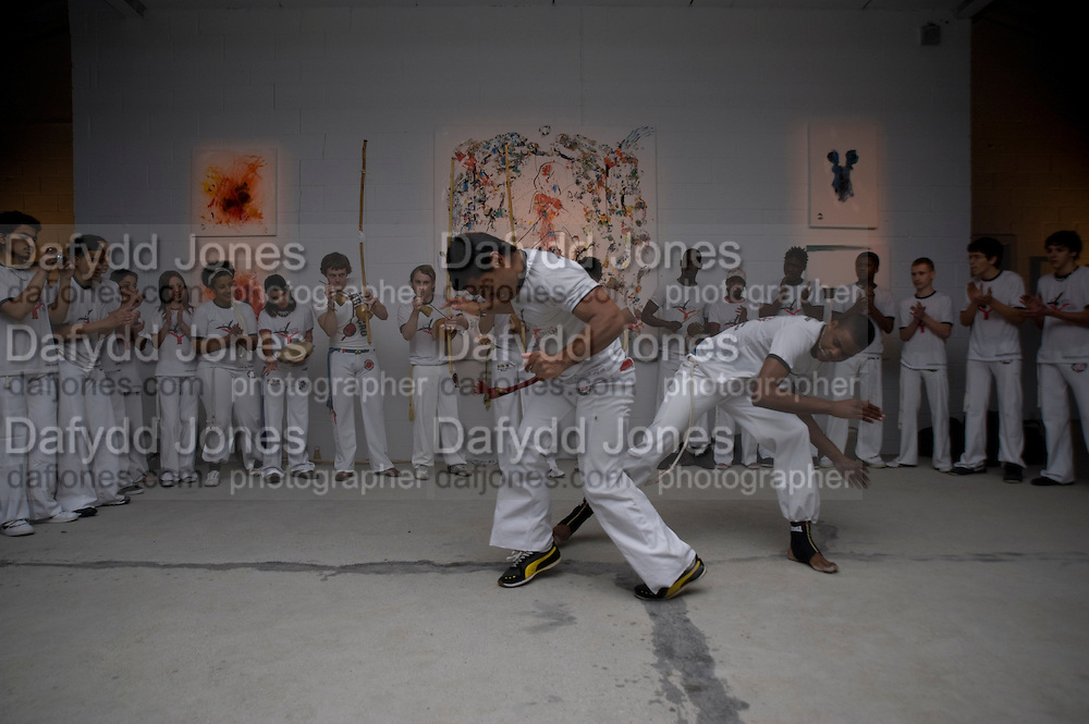 PERFORMANCE FROM YOUTH FOR YOUTH, ArtSensus presents ' Naked Soul' by Meredith Ostrom in support of Youth for Youth. Howick Place. London. 12 March 2009
