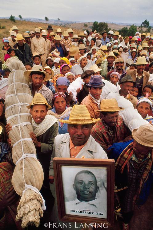 Famadihana party, Avaratriniala, Madagascar