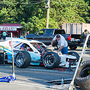 Lets go Racing:<br /> Sportsman racing<br /> final touches in the pits<br /> #3x, owned by Tommy Kerns<br /> <br />  Wall Stadium Speedway, Wall, NJ
