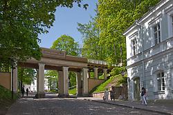 Angel`s Bridge in Tartu, Estonia, Europe