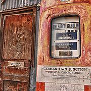 Vintage Gasoline Pump - Eldorado Canyon - Nelson NV - HDR