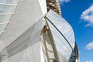 La Fondation d'entreprise Louis Vuitton, Paris. Frank Gehry architecte.